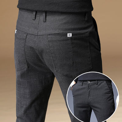 春夏季休闲裤男士直筒宽松商务新款西裤子男修身百搭薄款韩版潮流