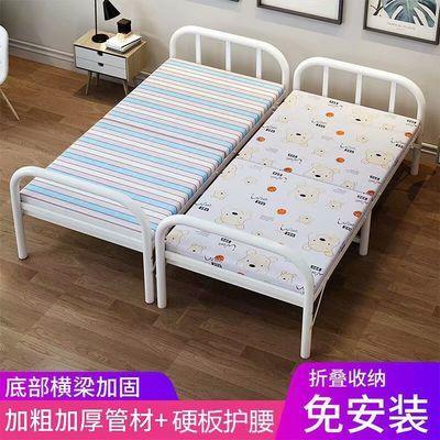 午休折叠床便携简易办公室午睡神器家用双人硬板陪护行军单人床