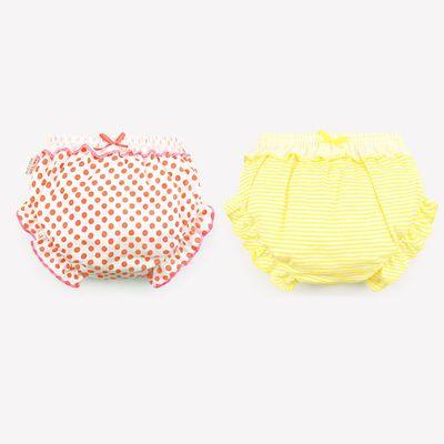 女童内裤 夏1-3岁儿童纯棉宝宝小内裤婴儿三角小童平角短裤面包裤