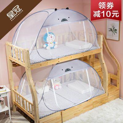 免安装蚊帐子母床1.5米上下铺1.35m双层高低床学生宿舍0.9m床1.8
