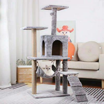 特价包邮猫爬架猫窝猫树猫玩具猫跳台剑麻柱猫抓柱猫别墅猫咪用品