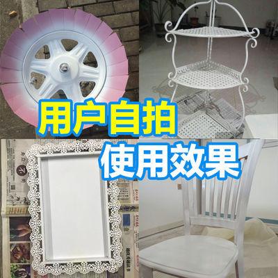 白色自喷漆手摇喷漆涂鸦哑光白福田白纯白金杯白珍珠白油漆改色
