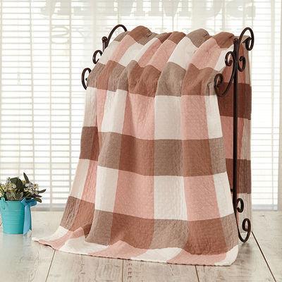 热卖婴儿浴巾双层纱布可爱被芯儿童超柔软吸水新生儿毛巾被盖毯薄