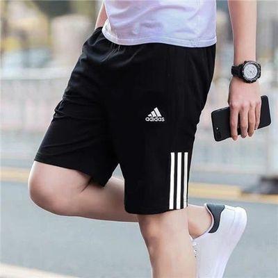 阿迪达斯短裤男裤2020夏季新款运动裤子速干透气足球跑步五分裤