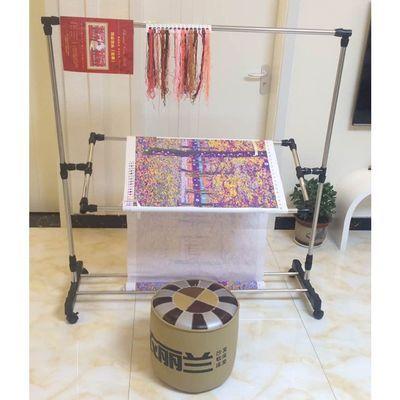 热卖大号可调十字绣架子不锈钢刺绣花框支架通用工具家用