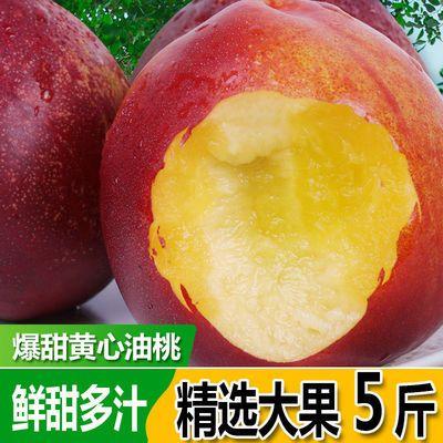 黄心大油桃新鲜水果当季整箱非水蜜桃孕妇脆甜桃子3斤5斤/包邮