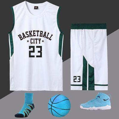 新款篮球服定制套装男 夏季儿童训练服大学生球衣女比赛队服印字