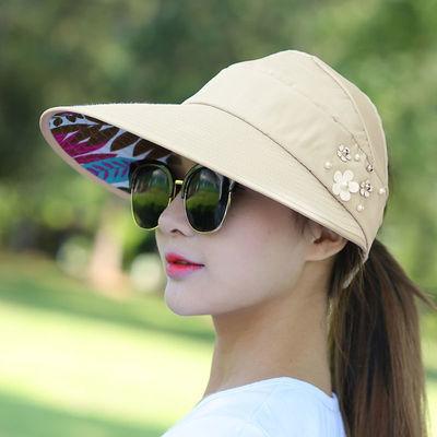 帽子夏季防晒女士太阳帽遮阳帽防晒帽鸭舌帽韩版学生新款凉渔夫帽