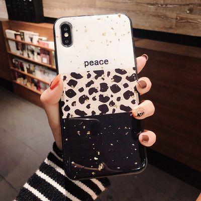 小米10/cc9/8/6x/5x豹纹手机壳红米note7/8/4x爱心k20/k30苹果678
