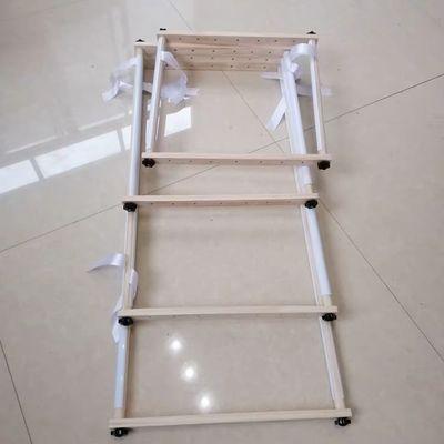 热卖十字绣架子手持实木十字绣架可调工具刺绣框大号方形支架大号