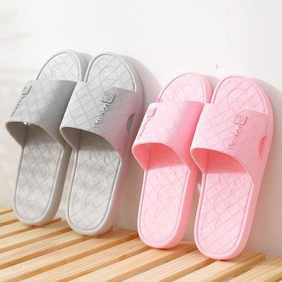 2020新款简约地板防滑凉拖鞋女夏季浴室卫生间洗澡托鞋男韩版四季