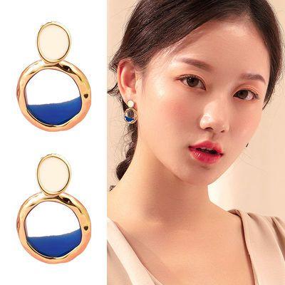 韩国东大门新款耳环高品质时尚个性纯银个性韩国气质耳钉耳饰女潮