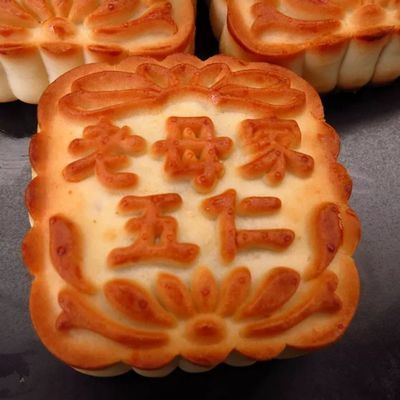 吉林老母家月饼 香甜老式月饼五仁豆沙 蛋黄莲蓉多种口味全新日期