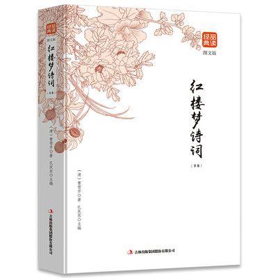 红楼梦诗词 赏析全解经典文学作品鉴赏四大名著之一 初高中文学书