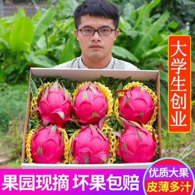 金都一号蜜宝红心火龙果红肉水果新鲜整箱应季水果当季孕妇2/3/5