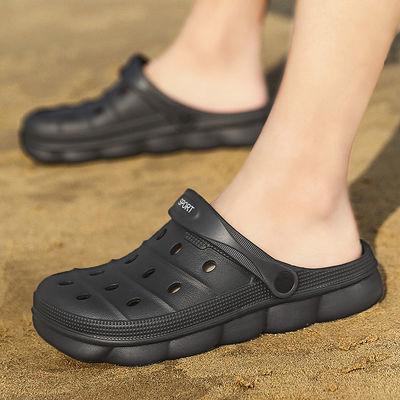 男凉拖2018男鞋夏季男士凉鞋沙滩鞋子凉拖一字拖人字潮拖鞋情侣鞋