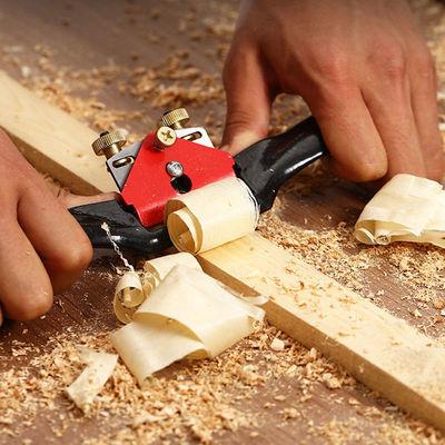 木工鸟刨一字修边可调节手推刨子专用家用木匠手工工具diy木工刨