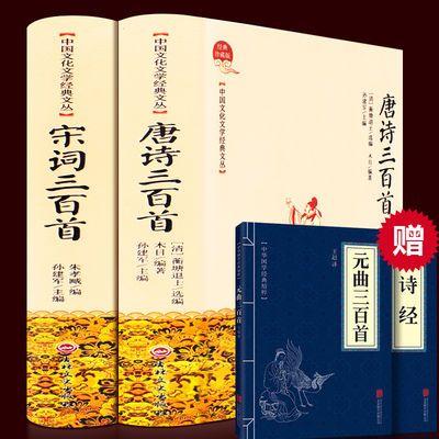 【全2册】 唐诗三百首全集宋词三百首中国诗词大会古典诗词图书籍