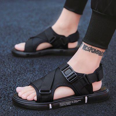 热销2020夏季新款凉鞋男男士凉鞋潮流韩版个性拖鞋休闲凉拖防滑沙