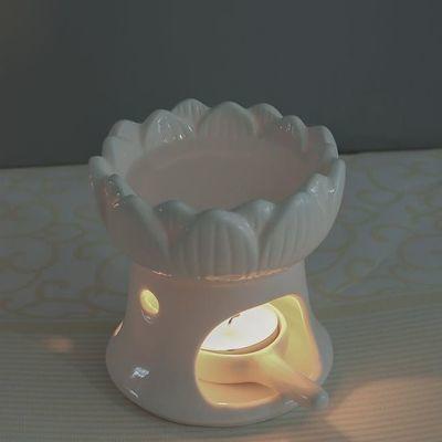 蜡烛香薰炉香薰灯精油灯卧室陶瓷蜡烛熏香炉精油家用美容院室内