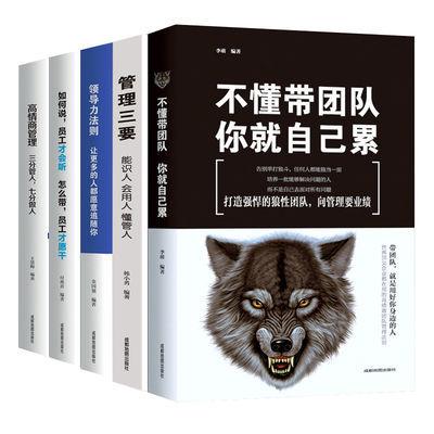 管理书籍不懂带团队你就自己累企业公司领导力团队培养领导培训书