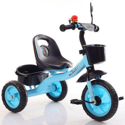热销儿童三轮车脚踏车手推车1-5岁男女孩婴幼儿3宝宝自行车可推可