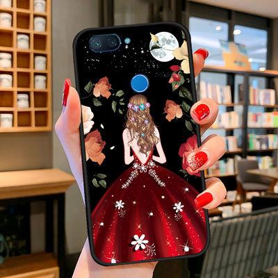 小米8青春版手机壳钢化膜手机套软硅胶外壳个性创意保护套