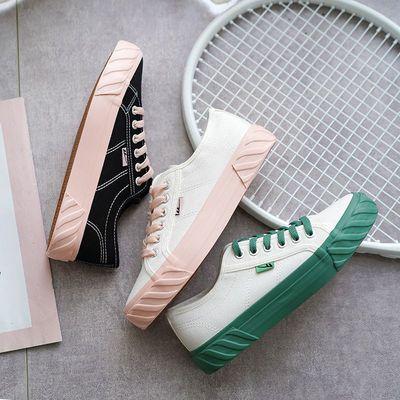 回力帆布鞋女鞋2020春夏新款潮鞋韩版百搭原宿学生休闲夏季板鞋