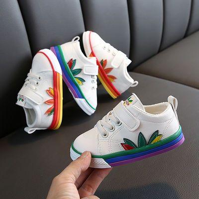 男女宝宝板鞋2020春季新款女童鞋子小白鞋百搭休闲鞋男童运动鞋潮
