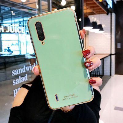 小米cc9手机壳电镀硅胶磨砂cc9e新款可爱网红透明定制防摔女软壳