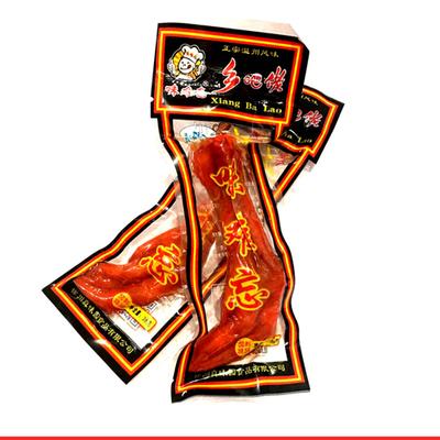 【特价】乡吧佬风味香酥鸡爪红爪卤味鸡爪休闲真空包装批发卤香酱