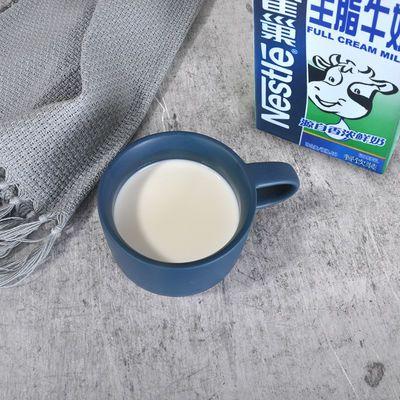 【特价】雀巢全脂牛奶纯牛奶1升L咖啡打奶泡餐饮专用蛋糕饼干甜品