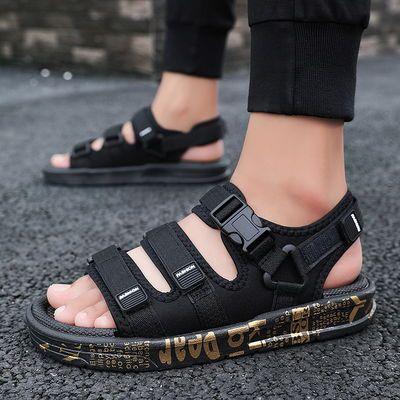 爆款2020夏季新款凉鞋男男士凉鞋潮流韩版个性拖鞋休闲凉拖防滑沙