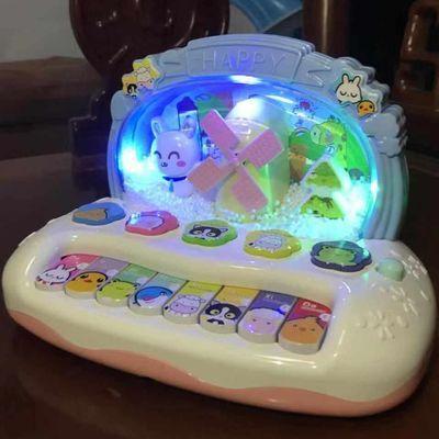 儿童音乐琴0-1-3岁婴幼儿早教益智宝宝电子琴6-12月玩具男女孩2-4