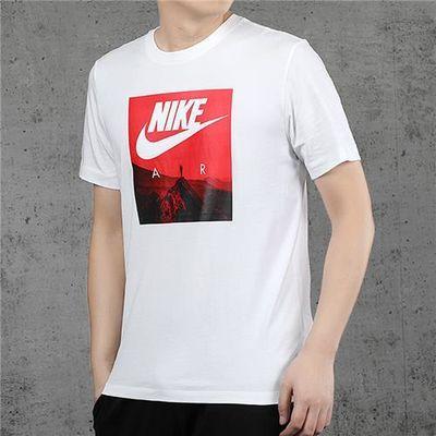 Nike耐克短袖男半袖2020夏季新款运动休闲透气跑步T恤CK4281-100