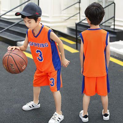 儿童篮球服套装夏男童3号篮球衣小学生运动服夏季小孩球衣两件套9