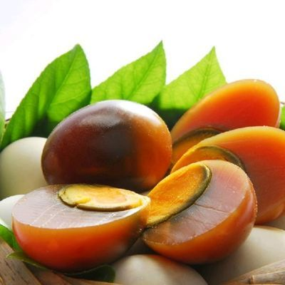 【10枚包邮】四川特产广安盐皮蛋咸鸭蛋 盐皮蛋 五香皮蛋松花皮蛋