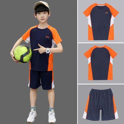 男童夏季套装儿童速干衣夏装胖男孩篮球服两件套中大童加肥加大15