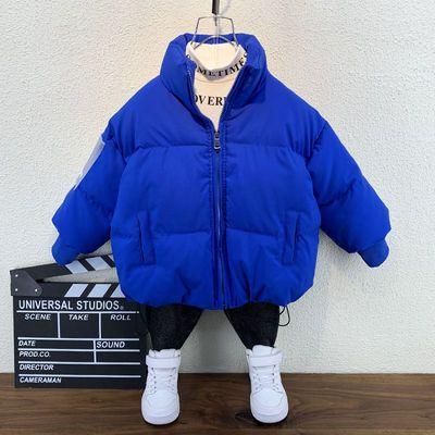 男童棉服外套2019新款洋气冬装宝宝加厚棉袄冬季小儿童棉衣男孩潮