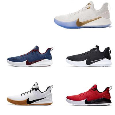 科比5曼巴篮球鞋科比5代运动鞋男鞋子中学生低帮耐磨防滑实战战靴