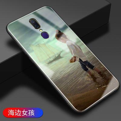 oppoA9x手机壳玻璃oppoA9保护套全包边硅胶防摔潮薄硬壳男女网红