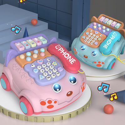 儿童玩具手机仿真电话机婴儿益智音乐早教宝宝0-1岁3男女孩12个月