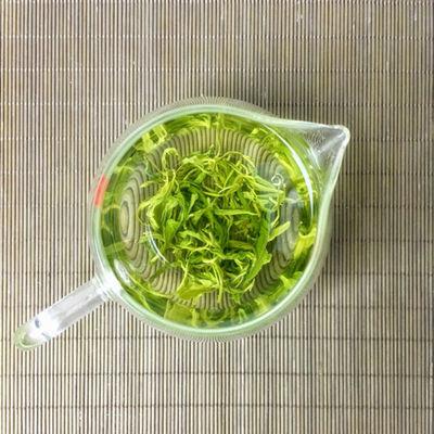 山东日照绿茶2020新茶散装浓香型高山云雾一级炒青茶叶500g