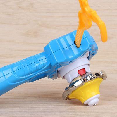 赛尔号三国暴烈魔幻超变战斗王双层金属拉线手柄男孩儿童陀螺玩具