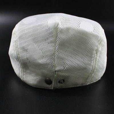 夏季新款白色彩色亮片鸭舌帽2018女士潮遮阳帽宇莹帽子贝雷帽韩版
