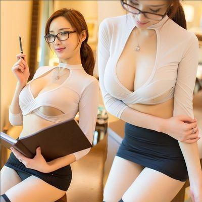 情趣内衣性感制服装秘书装角色扮演COS套装制服诱惑分体夜店装