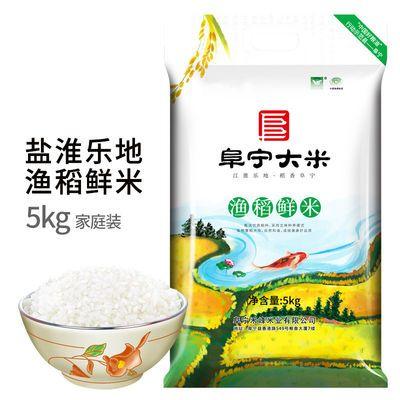 江苏特产鱼渔稻香阜宁大米稻花香粳苏北珍珠米实惠新米5斤10斤装