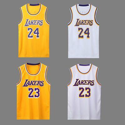詹姆斯23号篮球服上衣科比24号球衣比赛运动球服背心上装班服男女