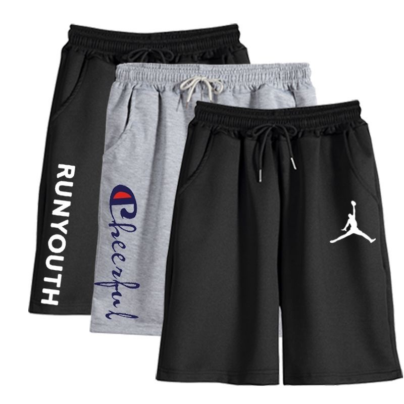夏季运动5分休闲中裤7分足球短裤
