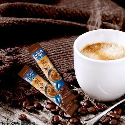 【特价】麦斯威尔速溶三合一咖啡经典原味30条+特浓20条提神即溶